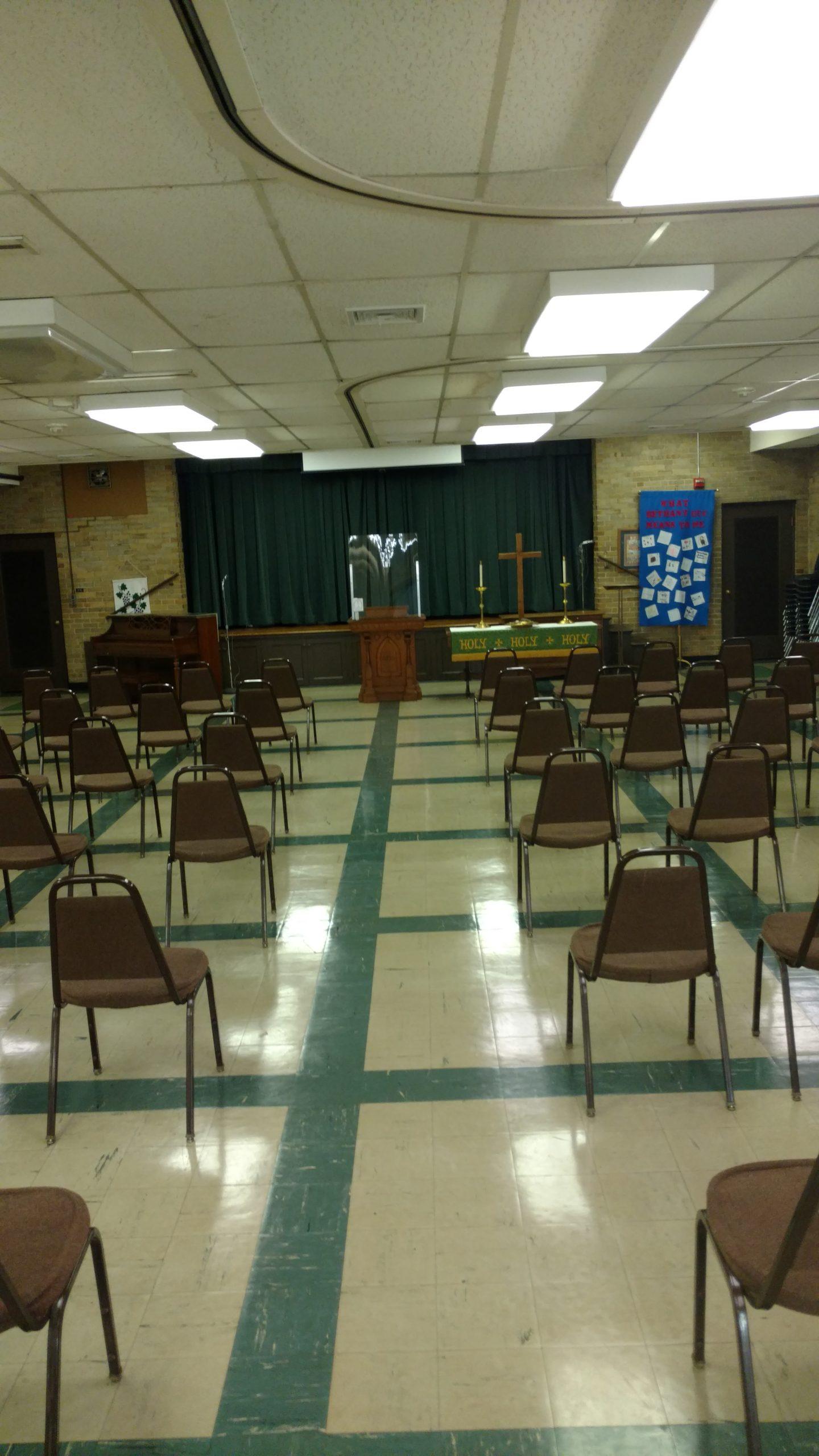 Fellowship Hall Sanctuary